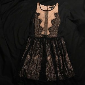 Forever 21 Black Lace Dress